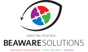 Beaware Solutions – Emergency Management Logo